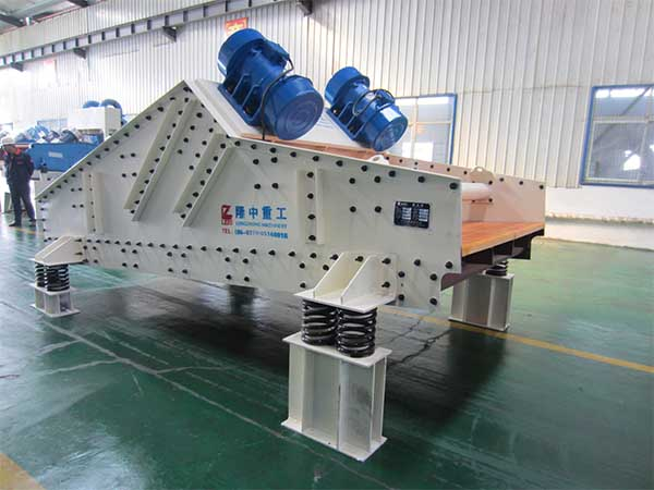 high frequency vibrating and dewatering screen