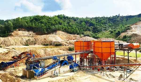 silica sand beneficiation plant in Vietnam