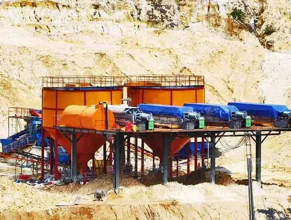 silica sand beneficiation plant