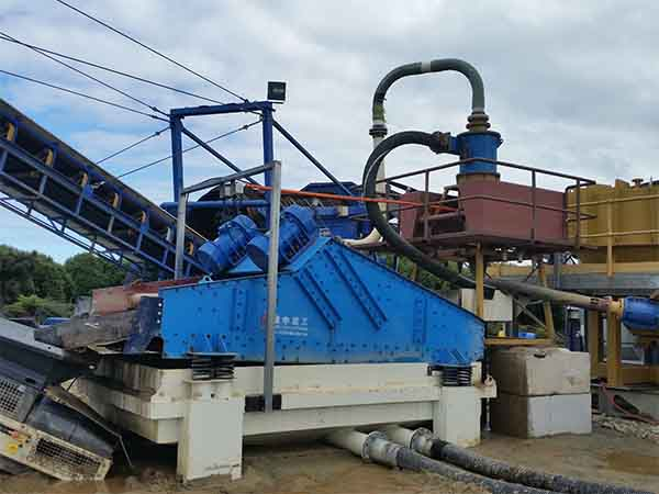 screening efficiency of the linear vibrating screen